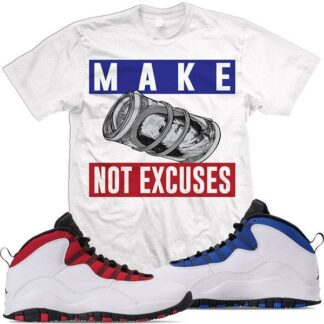 Make money not excuses t- shirt