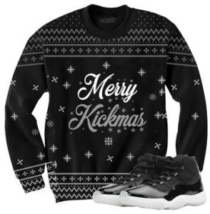 Merry kickmas sweater